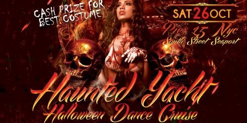 Haunted Yacht Halloween Dance Cruise